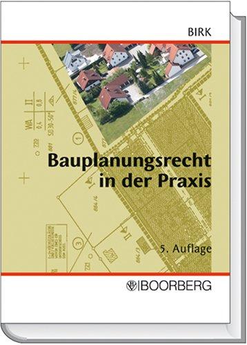 9783415031982: Bauplanungsrecht in der Praxis