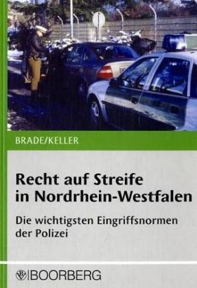 9783415035171: Recht auf Streife in Nordrhein-Westfalen