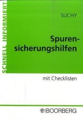 9783415035812: Spurensicherungshilfen