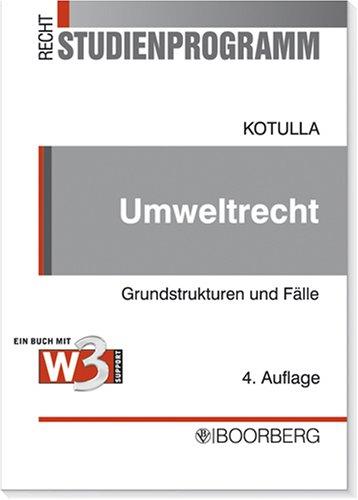 9783415039858: Umweltrecht: Grundstrukturen und Fälle