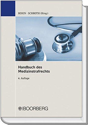9783415044203: Handbuch des Medizinstrafrechts