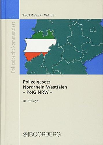 9783415045422: Polizeigesetz NRW