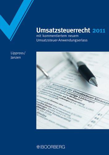9783415045996: Umsatzsteuerrecht 2011