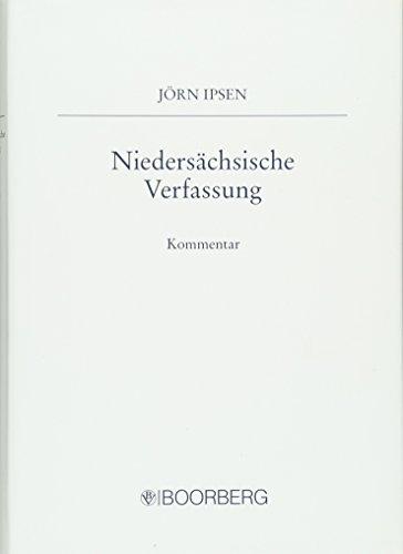 Niedersächsische Verfassung - Kommentar: Jörn Ipsen