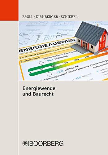 9783415051058: Energiewende und Baurecht