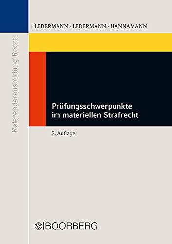9783415051270: Prüfungsschwerpunkte im materiellen Strafrecht