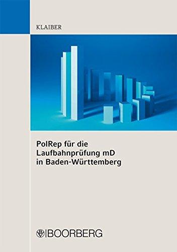 9783415051621: PolRep für die Laufbahnprüfung mD in BW