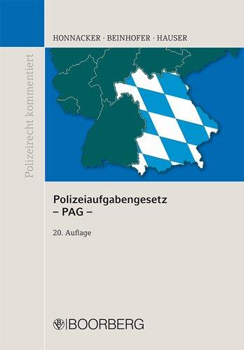 Polizeiaufgabengesetz (PAG): Heinz Honnacker