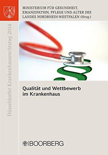 9783415054431: Qualität und Wettbewerb im Krankenhaus