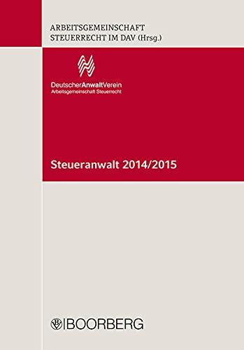 Steueranwalt 2014/2015