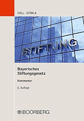 9783415056381: Bayerisches Stiftungsgesetz