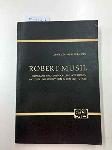 9783416007825: Robert Musil