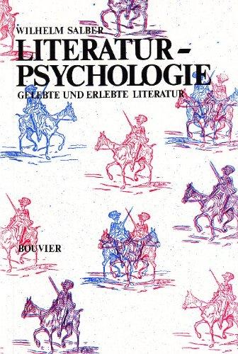 9783416008983: Literaturpsychologie: Gelebte und erlebte Literatur