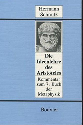 Aristoteles. Ontologie, Noologie, Theologie.: SCHMITZ (Hermann)