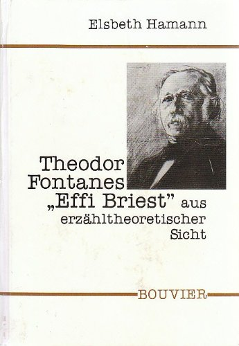 9783416018203: Theodor Fontanes