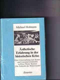Ästhetische Erfahrung in der historischen Krise Eine: Hofmann, Michael: