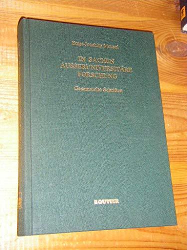 9783416026512: In Sachen ausseruniversitäre Forschung