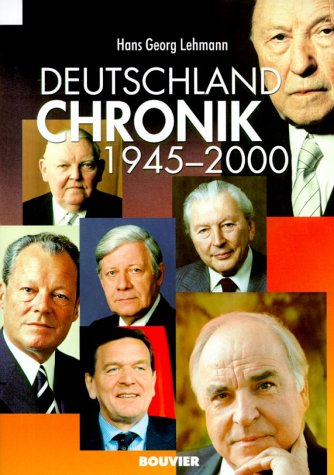 9783416029575: Deutschland Chronik 1945-2000 (German Edition)