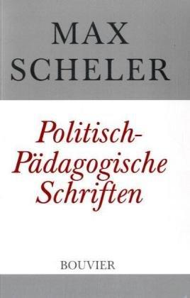 9783416032100: Politisch-P�dagogische Schriften