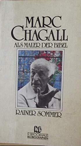 9783417211061: Marc Chagall als Maler der Bibel,