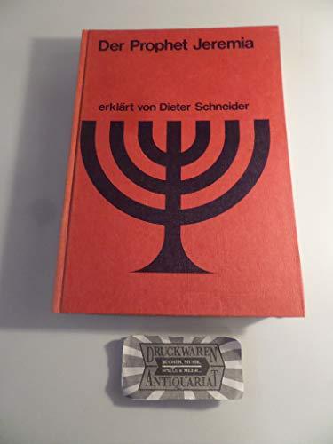9783417252026: Wuppertaler Studienbibel, AT, Sonderausgabe, Der Prophet Jeremia