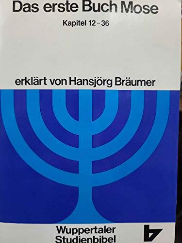 9783417252057: Wuppertaler Studienbibel, AT, Sonderausgabe, Das erste Buch Mose. Teil 2. Kapitel 12 bis 36.
