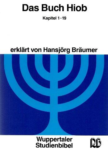 9783417252217: Wuppertaler Studienbibel, AT, Sonderausgabe, Das Buch Hiob