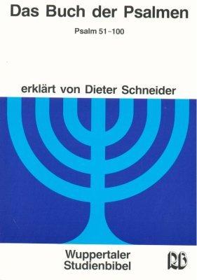 9783417252286: Wuppertaler Studienbibel, AT, Sonderausgabe, Das Buch der Psalmen