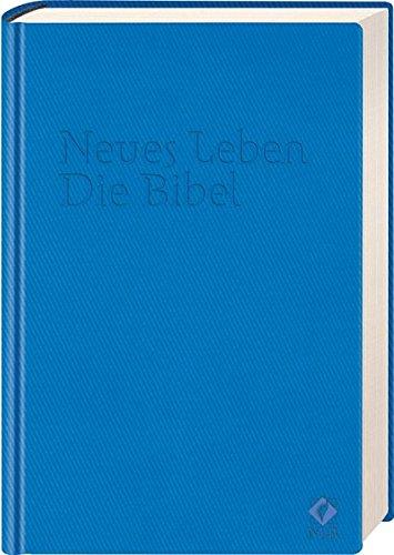 9783417255072: Neues Leben. Die Bibel. Taschenausgabe, ital. Kunstleder azzuro-blau