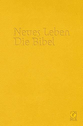 9783417255089: Neues Leben. Die Bibel. Taschenausgabe, ital. Kunstleder primavera-gelb