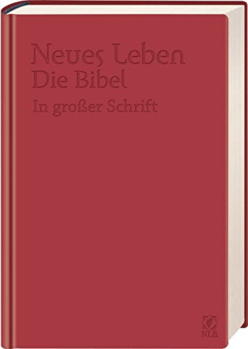 9783417255119: Neues Leben. Die Bibel in großer Schrift, ital. Kunstleder