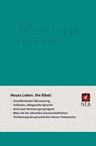 9783417255171: Neues Leben. Die Bibel - Standardausgabe, ital. Kunstleder smaragd