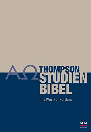 9783417255263: Thompson Studienbibel