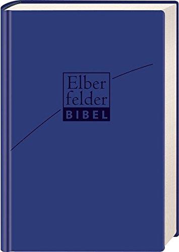 Elberfelder Bibel - Standardausgabe, ital. Kunstleder blu