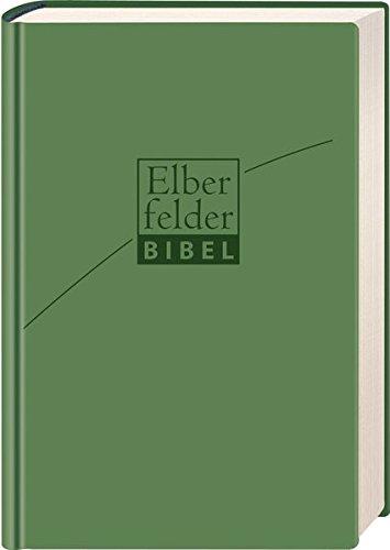 Elberfelder Bibel - Standardausgabe, ital. Kunstleder verde