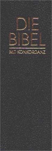 9783417258967: Revidierte Elberfelder Bibel mit Konkordanz. (Kunstleder blau).