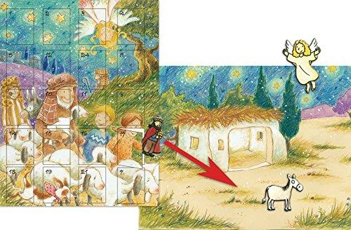 9783417261868: Warten aufs Weihnachtsfest: Der magnetische Adventskalender