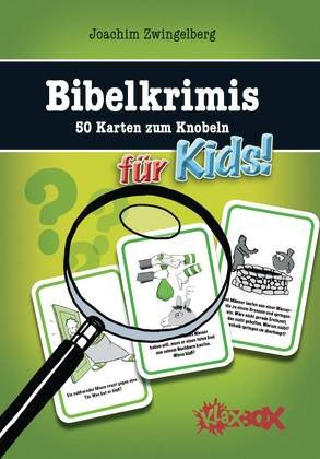 9783417264159: Bibelkrimis für Kids: 50 Karten zum Knobeln. Box mit 50 Karten