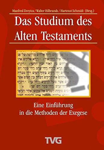 9783417294712: Das Studium des Alten Testaments
