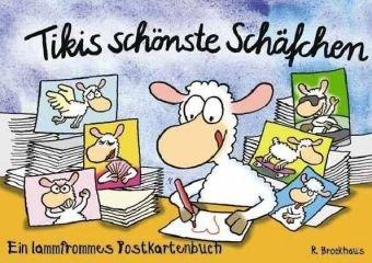 9783417371000: Tikis schönste Schäfchen - Postkartenbuch: Ein lammfrommes Postkartenbuch