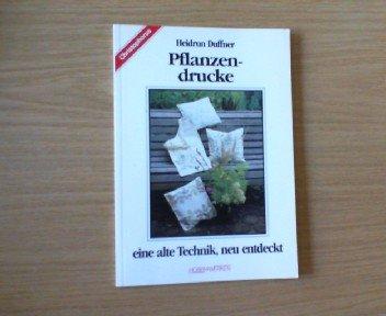 9783419527627: Pflanzendrucke. Eine alte Technik, neu entdeckt