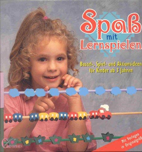 9783419528341: Spaß mit Lernspielen. Bastel-, Spiel- und Aktionsideen für Kinder ab 3 Jahren