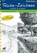 9783419531495: Tusche-Zeichnen leicht und sicher. Landschaften