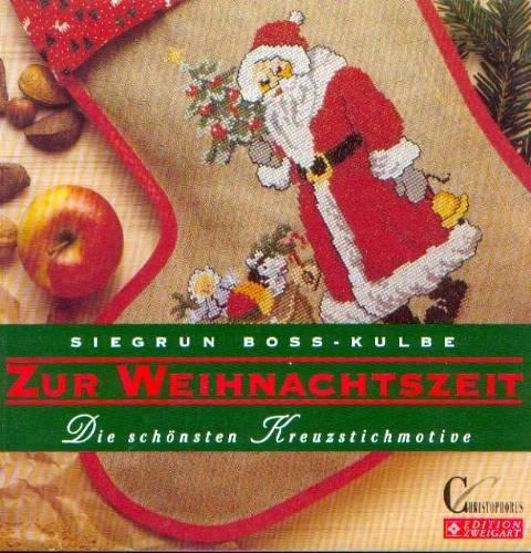9783419531938: Zur Weihnachtszeit. Die schönsten Kreuzstichmotive