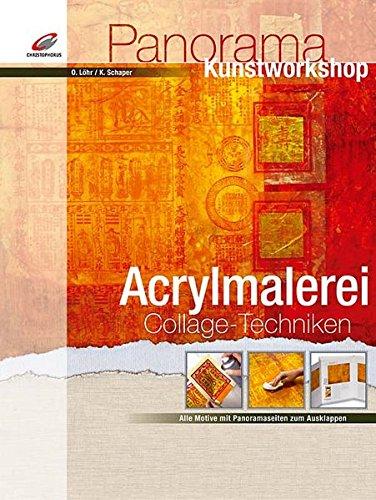 9783419533420: Acrylmalerei Collage-Techniken
