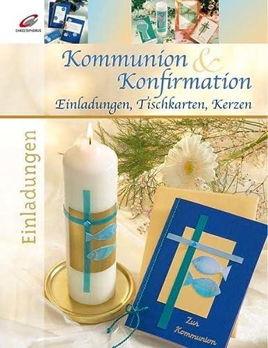 9783419534663: Kommunion & Konfirmation: Einladungen, Tischkarten, Kerzen