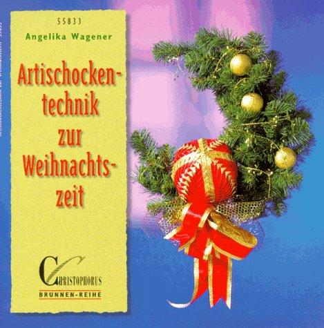 9783419558331: Artischockentechnik zur Weihnachtszeit