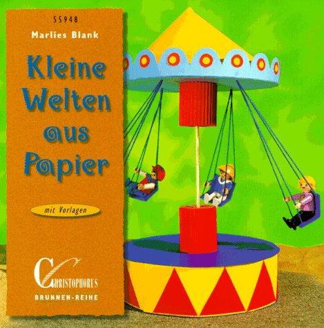 9783419559482: Kleine Welten aus Papier. Mit Vorlagen