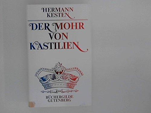 9783420047183: Der Mohr von Kastilien: Roman