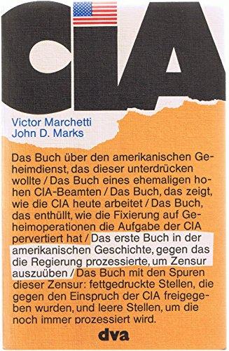 9783421017024: CIA